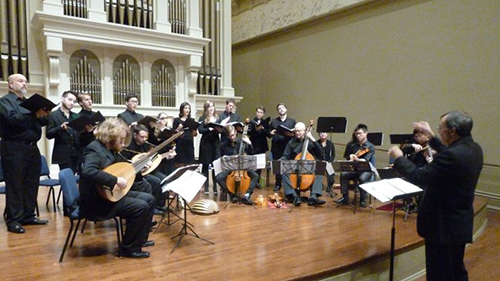 Peabody Renaissance Ensemble perform