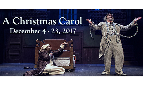 A Christmas Carol - 2017 flyer