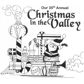 Christmas in the Valley logo