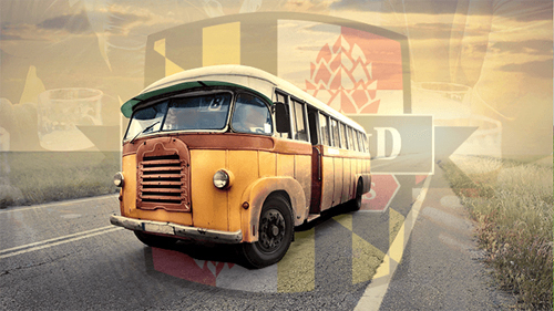 Maryland Brewery Tours bus