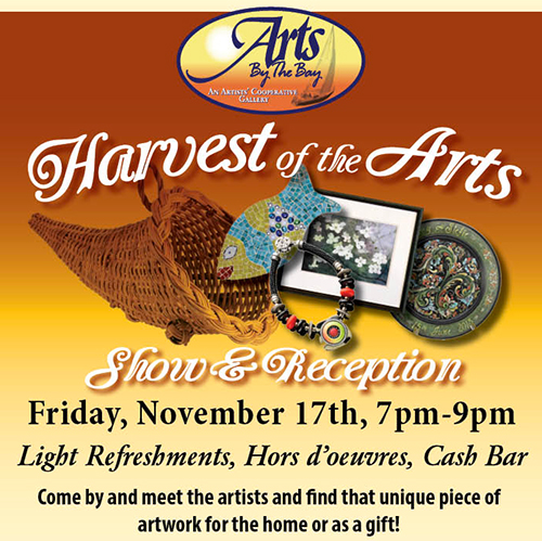 Harvest of the Arts flyer