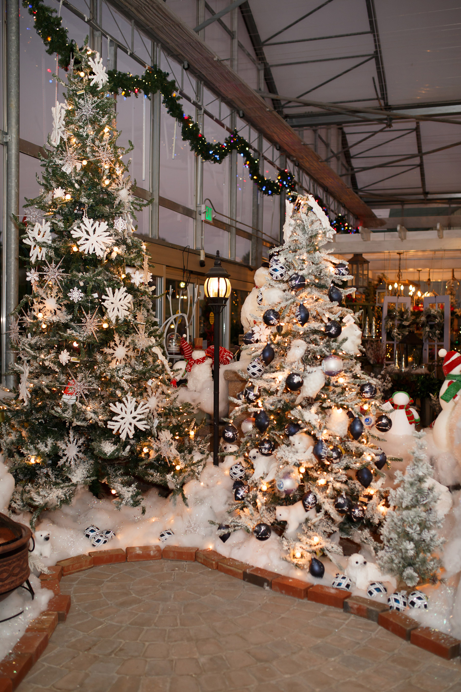 Greenstreet Gardens becomes a winter wonderland for the holidays.
