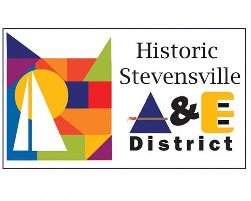Historic Stevensville A&E District logo