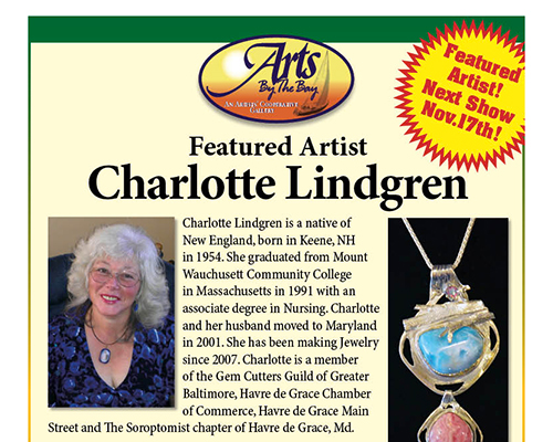 Featured Artist Charlotte Lindgren