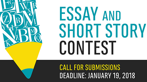 essay and short story contest poster