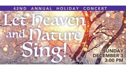 CCM Holiday Concert 2017 poster