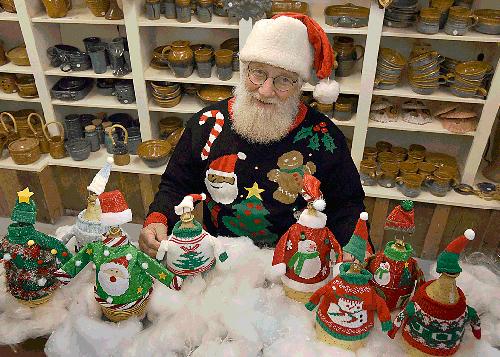 Santa Ken and his friends