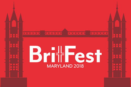 Logo for BritFest 2018 Maryland