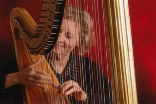 Harpist Robin Roys