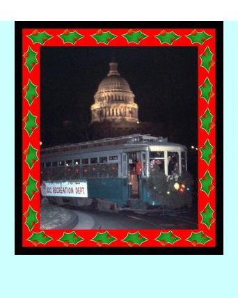 Winter in Washington Photo of Trolley Museum