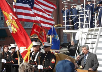 Pearl Harbor Ceremony at USCGC TANEY