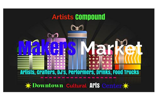 Supersized Makers Market poster