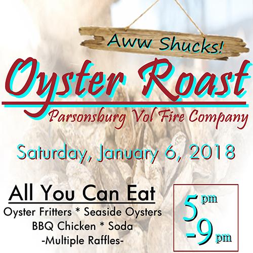 Aww Shucks - Oyster Roast poster