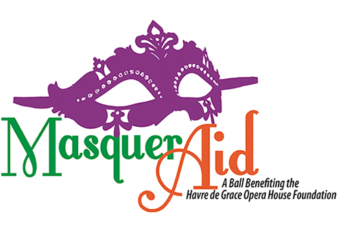 Masqueraid Logo with Mask