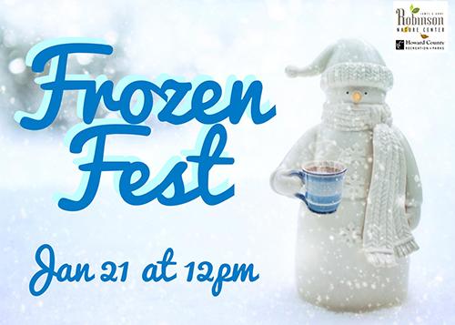 Frozen Fest poster