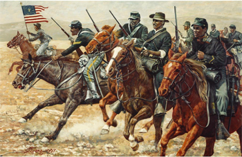 Buffalo Soldiers: Mappers, Explorers, Park Rangers, and Protectors of the West