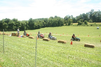 Lawnmower Racing
