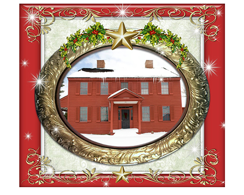 An Old-Fashioned Holiday Card of Surratt House