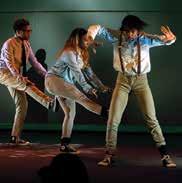 dancers tap dancing