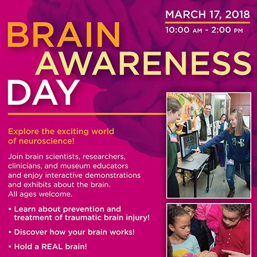 Brain Awareness Day flyer