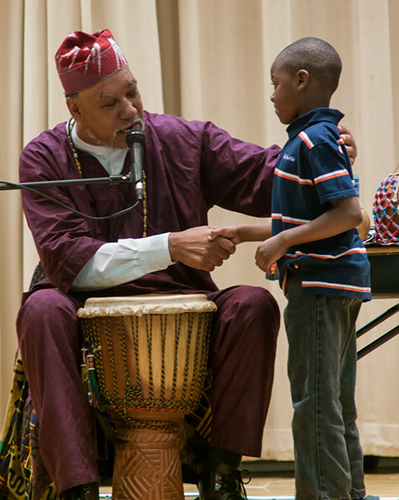 Baba Jamal and a young man