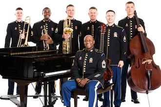 The Ambassadors Jazztet of The United States Field Band.