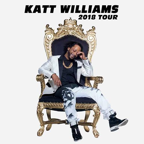 Katt Williams 2018 Comedy Flyer