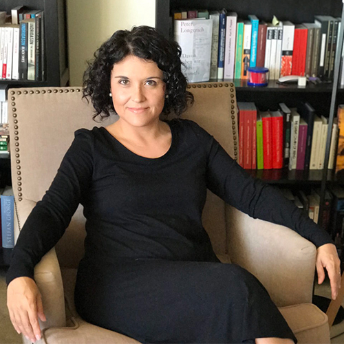 Historian and author Ana Lucia Araujo