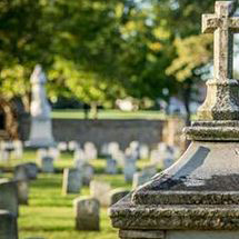 Cemetary at Shrine of St. Elizabeth Ann Seton