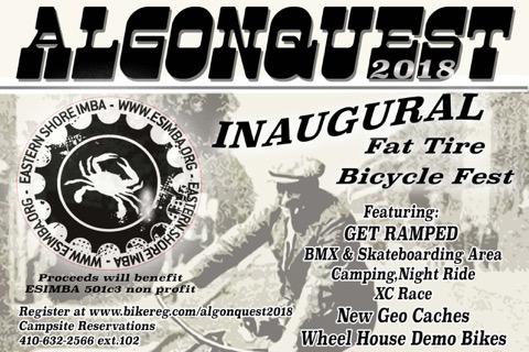 Algonquest - Fat Tire Fest poster