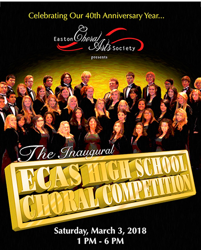 ECAS Choral Competition Poster