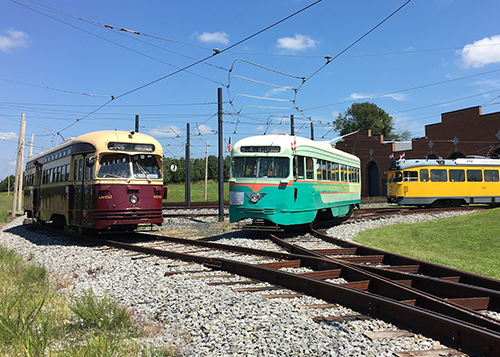 Three generations of Street Cars