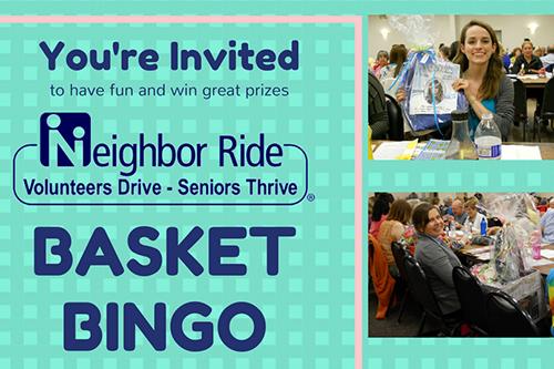Basket Bingo flyer
