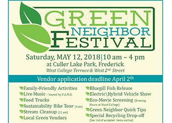 Green Neighbor Festival Info Flyer