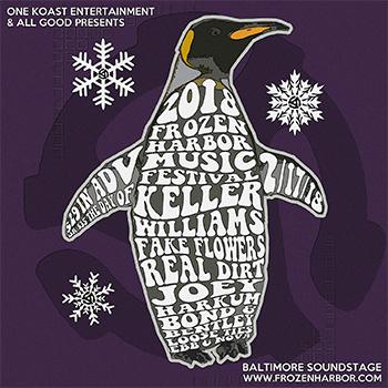 Frozen Harbor Penguin logo