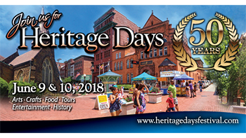 Cumberland Heritage Days Festival poster