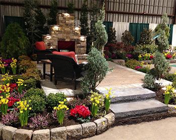 Maryland Home & Garden Show garden display