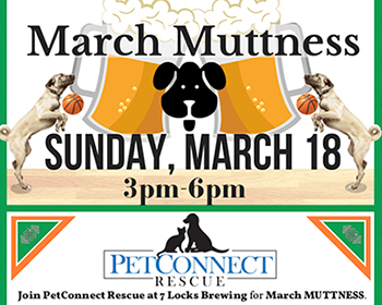 March Muttness poster