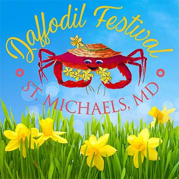 Daffodil Festival St. Michaels poster