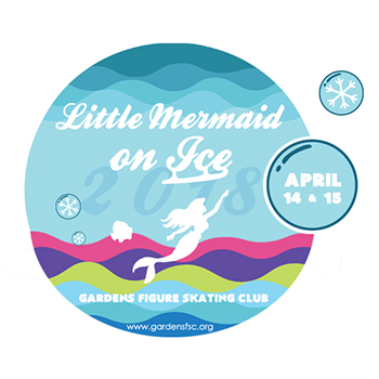 Little Mermaid on Ice! logo