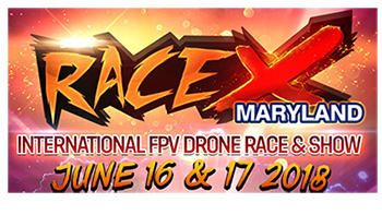 RaceX Maryland Logo