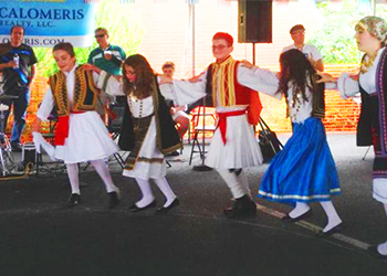Dancerts at the Greek Festival