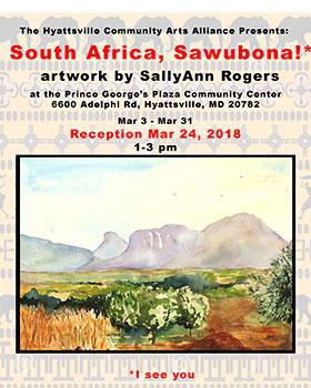 South Africa - Sawubona poster