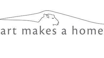 Art makes a home show logo