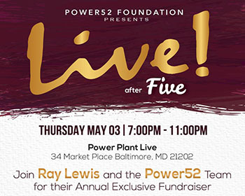 Power52 LIVE After Five Event Logo