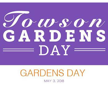 Towson Gardens Day Logo