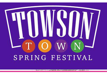 Towsontown Spring Festival Logo