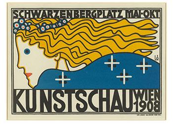 Berthold Löffler.Kunstschau, Wien.1908.BMA