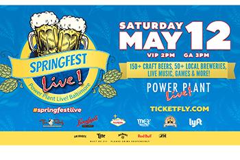 Springfest Live! Craft Beer Festival Poster