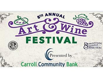 Sykesville Art & Wine Festival Logo